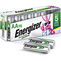 16-Count Energizer 2000 mAh NiMH Rechargeable AA Batteries