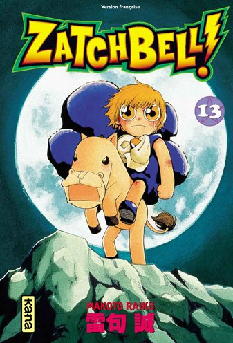 Zatchbell !, Tome 13 :