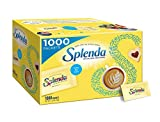 Splenda No Calorie Sweetener Value Pack, 1000 Individual Packets, 2.2 lbs