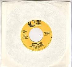 JOHNNY LEE / EAGLES - LOOKIN OFR LOVE / LYIN EYES - 7 inch vinyl / 45 record