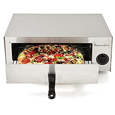 Continental Electric PS-PO891 Pizza Oven, Countertop, Stainless Steel