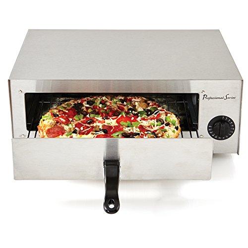 Professional Series PS75891 Horno de pizza y horno congelado para aperitivos, acero inoxidable