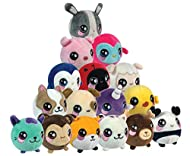 Slow rising plush: Super soft plush, squeeze as hard you like and watch as your character returns to its original shape Scented: Smell their sweet tropical scent Collect them all: 16 different individual characters to collect. Great size : (L x W x H...