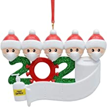 Offermax Survived Family Ornament Xmas Tree Ornaments 2020 Christmas Ornament Holiday Decorations Survived Family Christma...