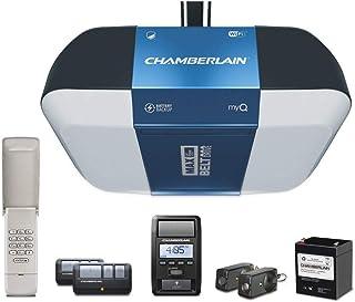 Chamberlain B1381T Smart Garage Door Opener- Battery Backup - Bright LED Lighting - myQ Smartphone Controlled - Ultra Quie...