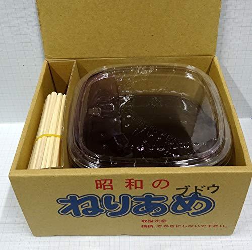 昭和のねりあめ  (ブドウ味 1パック1300g+割り箸20本)