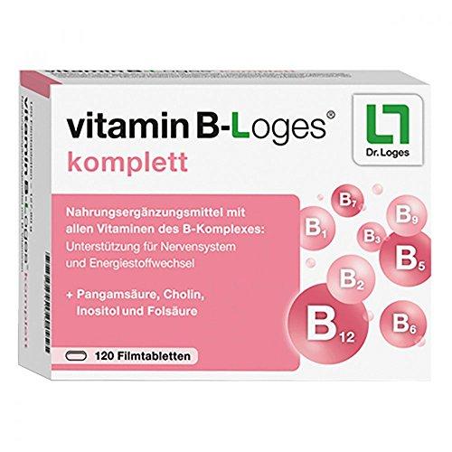 vitamin B-Loges komplett Tabletten, 120 st. Tabletten