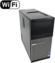 Dell Optiplex 9010 Tower TW High Performance Business Desktop Computer, Intel Quad Core i5-3470 up to 3.6GHz, 8GB Memory, 2TB HDD, DVD, USB 3.0, WiFi, Windows 10 Professional (Renewed)