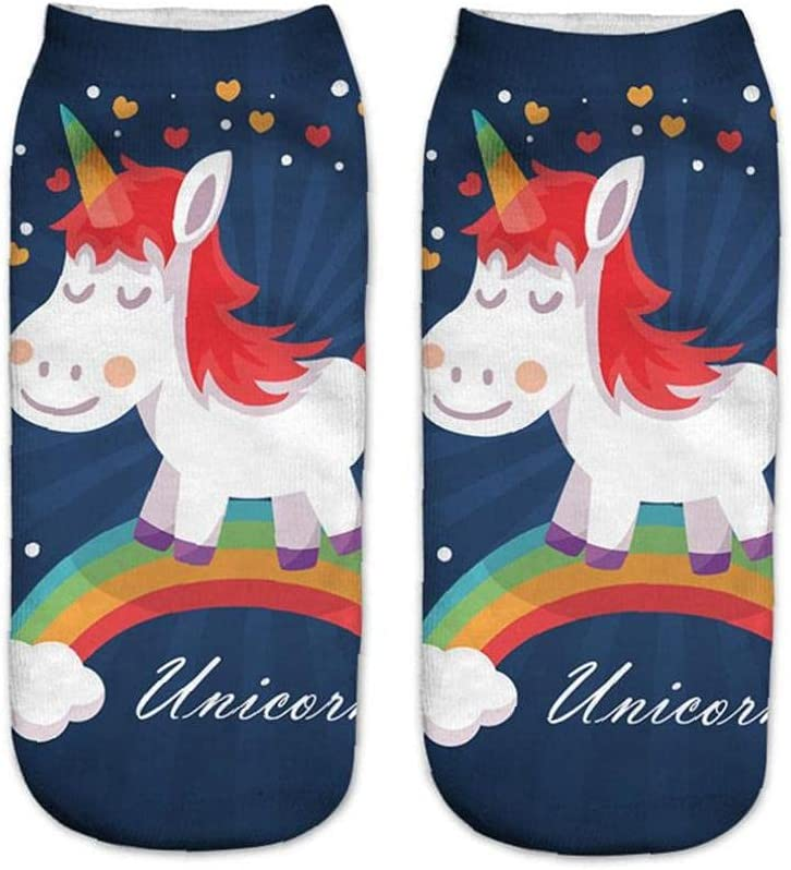Froiny 1pair Shorts Socks Pattern Animals Ankle Socks Sports Stocking Low Cut Boat Ankle Short Socks Women