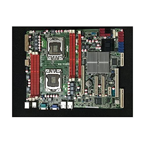 SYFANG Placa Base Fit for ASUS Z8NA-D6 LGA 1366 DDR3 X58 Apto para Placa Base de computadora Core I7 Extreme/Core I7 24GB