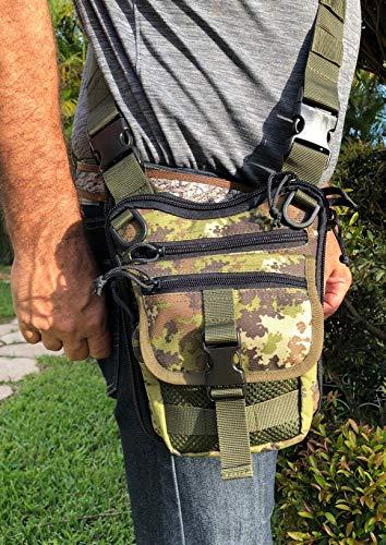 Falco Shoulder Bag for Concealed Gun Carry 519/2 MK3 Multicam
