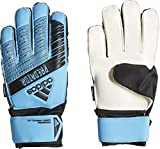 adidas Predator Top Training Fingersave Junior - Guantes de Portero para niños, Color Cian/Negro, 4