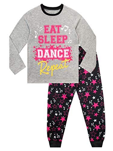 Harry Bear Ensemble De Pyjamas Fille Danse Gris 5-6 Ans