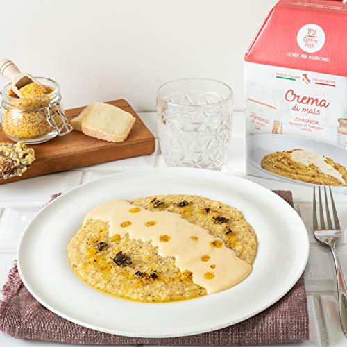CREMA DI MAIS LOMBARDA My Cooking Box x4 Porzioni - Per una serata tra amici, una cena romantica o come idea regalo originale!