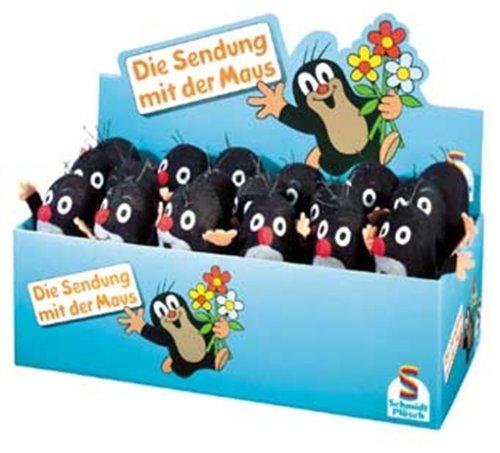 Schmidt Spiele 42044 - Die Sendung mit der Maus - Mini-Maulwurf 10cm