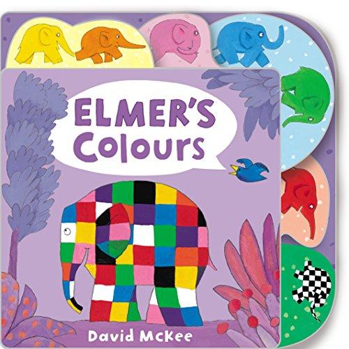Elmer's Colours: Tabbed Board Book (Elmer Picture Books)