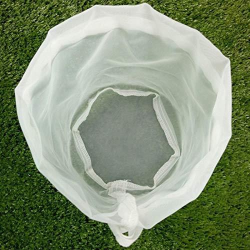 Bolsa de filtro reutilizable   Bolsas de cerveza, bolsa de filtro de vino para elaboración de cerveza en casa, nuez de té, jugo de fruta, leche, bolsa de filtro de malla de nailon (8 tamaños)