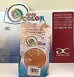Easy Color pigmento Naranja 906 para cemento, mortero y hormigón (Óxido de Hierro) (Naranja 906)