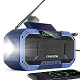 Portable Emergency Radio Bluetoooth...