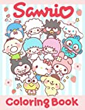 Sanrio Coloring Book: Perfect Gift Coloring Books For Adults Unofficial High Quality