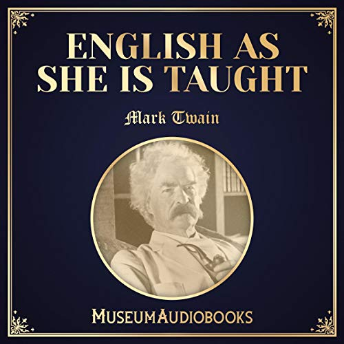 English as She Is Taught audiobook cover art