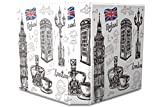 Archivador A4 Carpeta 2 anillas 60mm impreso Londres