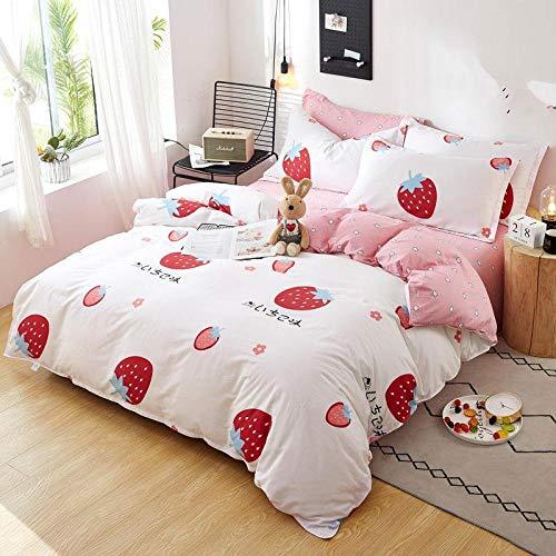Wzhfsq Juego de cama de 3 piezas con funda de edredón 3D (funda nórdica + 2 fundas de almohada de 50 x 75 cm), grueso y suave, 200 x 200 cm, muy suave y transpirable.