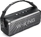 Altoparlante Bluetooth 60W, W-KING Casse Bluetooth Portatili Potenti Bass/Impermeabile IPX6/Riproduzione di 24...
