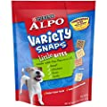 Purina ALPO Dog Treats, Variety Snaps Little Bites Beef, Chicken, Liver, Lamb - (4) 60 oz. Pouches