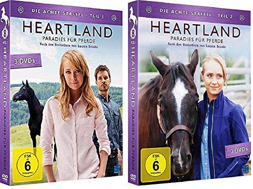 Heartland - Paradies für Pferde: Staffel 8.1+8.2 Die komplette Staffel 8 [DVD Set]