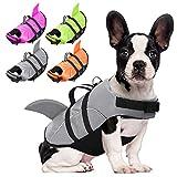 Chaleco salvavidas para perros AOFITEE – Ripstop Mascotas salvavidas, abrigo reflectante flotador de seguridad para perros pequeños, medianos y grandes