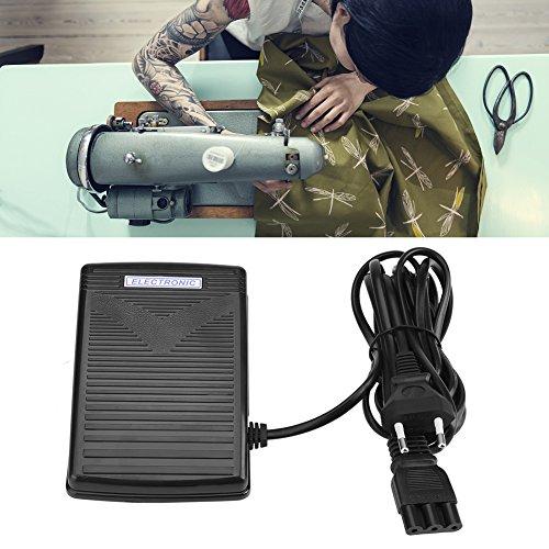 Acogedor 359102-001 Voetpedaal, praktische voetpedaal met netsnoer, universele naaimachine, voetschakelaar, pedaal, variabele snelheidscontroller, compatibel met vele soorten, 200-240 V