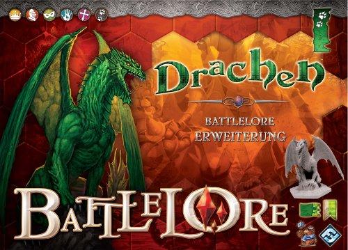 Heidelberger Spieleverlag HE195 - Battlelore Drachen Erweiterung