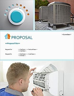 Proposal Pack HVAC #2 - Business Proposals, Plans, Templates, Samples and Software V18.2