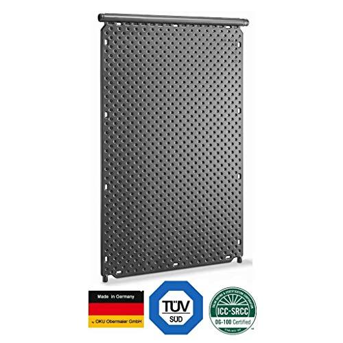 well2wellness® Pool Solarabsorber Solarheizung 1000 mit integriertem Sammelrohr Ø40mm