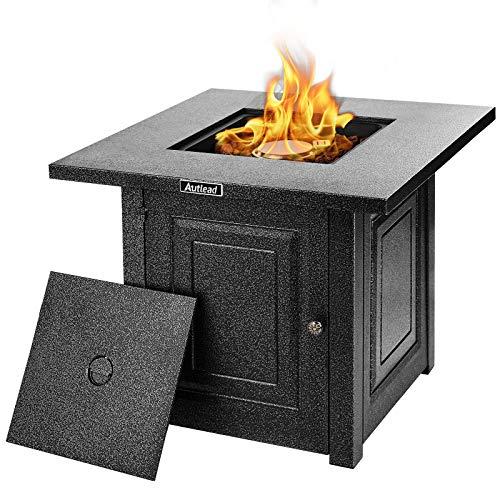 AUTLEAD Gas-Feuerstelle Tisch, 28