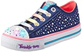 Skechers Kids Twinkle Toes Chit Chat Light-Up Lace-Up Sneaker