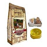 Natural Greatness - Pienso Natural Sin Cereales de Pollo para Perros Cachorros Jóvenes y Adultos Mini - Toy - Hipoalergénico   ANIMALUJOS (Saco 6 Kg + Comedero + Snacks)