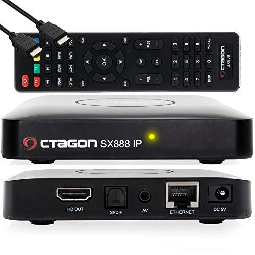 Octagon SX888 IP HEVC Full HD LAN USB H.265 IPTV m3u VOD Stalker Xtream Multimedia Box
