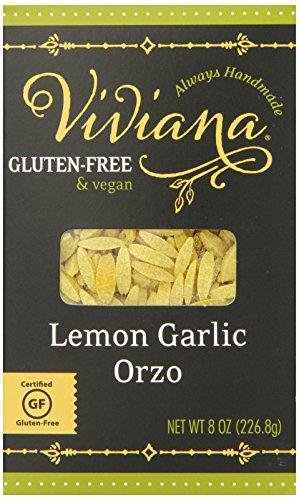 Viviana Lemon Garlic Orzo, 8 Ounce