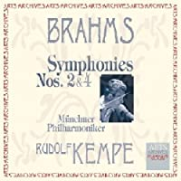 Symphonies 2 & 4 by J. Brahms (2002-05-03)