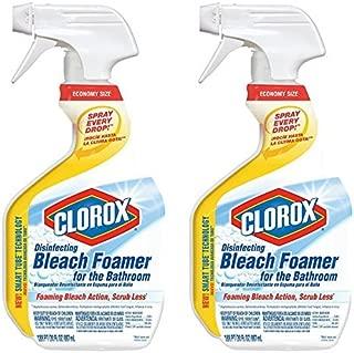 2-Pack Clorox Bleach Bathroom Foamer