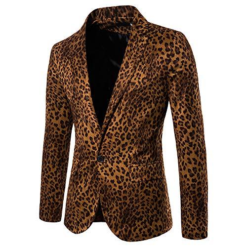Story of life herenpak, luipaard-prestaties jurk blazer, slangenpatroon pak, nachtclub host-foto-studio-jas-kleding