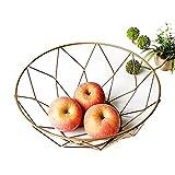 Bolso de compras reutilizable Cesta de la cesta del almacenaje negro de almacenamiento creativa Snacks caramelo cesta de escritorio dormitorio cocina Cesta de frutas Decoración Europea hueco de hierro
