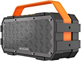 Bluetooth Speaker, Bugani M90 Portable Bluetooth Speaker with 30W Stereo Sound and Deep Bass,Long-Term Playback,Bluetooth 5.0 100ft Wireless Range, Support TF Card/AUX, Built-in Mic, for Home.