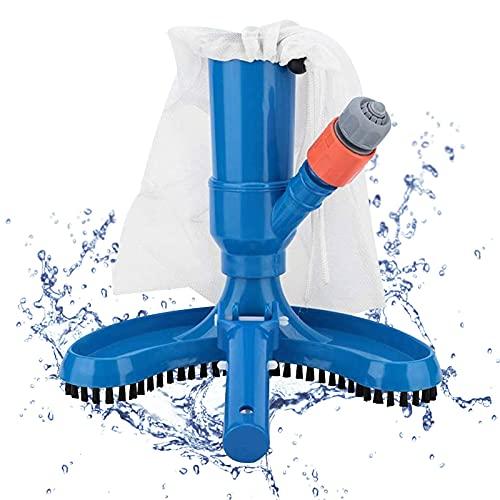 Aspirador de piscina, cepillo de limpieza portátil, cepillo de limpieza para piscinas, cepillo de limpieza para piscinas, cabezal de vacío para fuentes de estanque, jacuzzi, limpieza de piscina