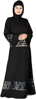 MyBatua Women's Embroidered Abaya