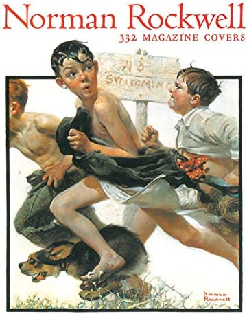 Norman Rockwell 332 Magazine Covers product image