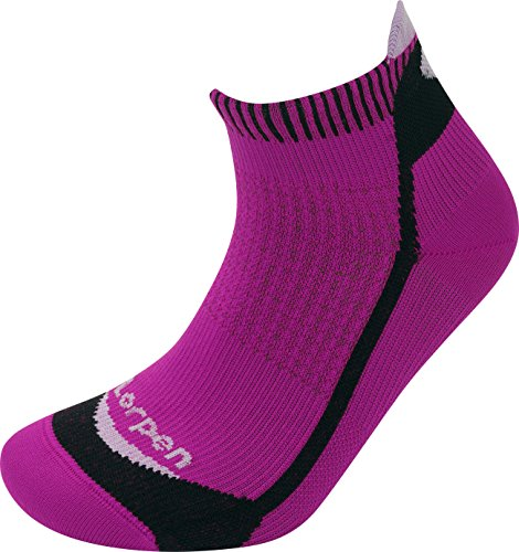Lorpen T3 - Calcetines de running para mujer, Mujer, color