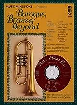 Music Minus One Trumpet: Baroque Brass and Beyond: Brass Quintets (Sheet Music & CD) by Ewald, V., Bach, Johann Sebastian, Palestrina, Giovanni Pier (2011) Paperback